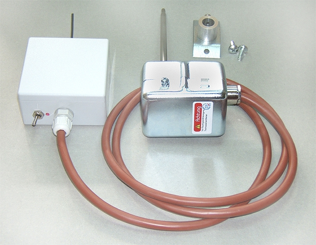 Aircon wireless einbau smokeguard rauchgassensor funk